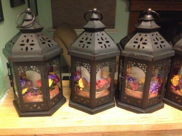 Caged Lanterns